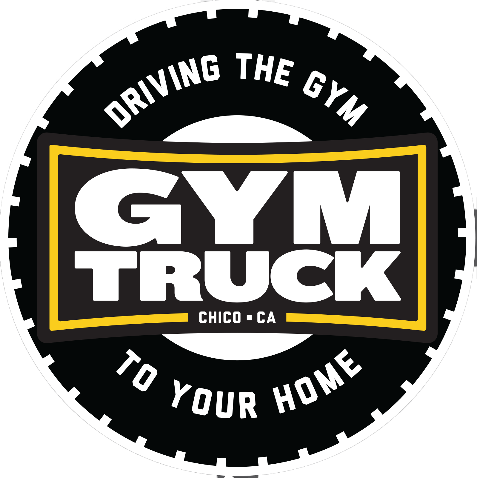 Logo Gym Truck Chico Personal Trainer Chico, Personal Trainer Oroville
